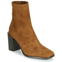Schuhe Damen Low Boots Fericelli NRETZEL Camel