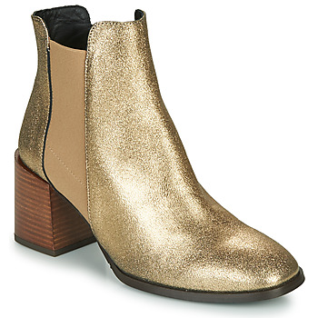 Schuhe Damen Low Boots Fericelli NIOCHE Gold
