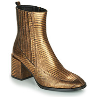 Schuhe Damen Low Boots Fericelli NAKE Gold