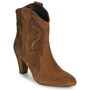 Schuhe Damen Low Boots Fericelli NARLOTTE Camel / Gold