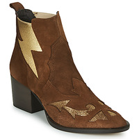 Schuhe Damen Low Boots Fericelli NAUSSON Beige / Gold