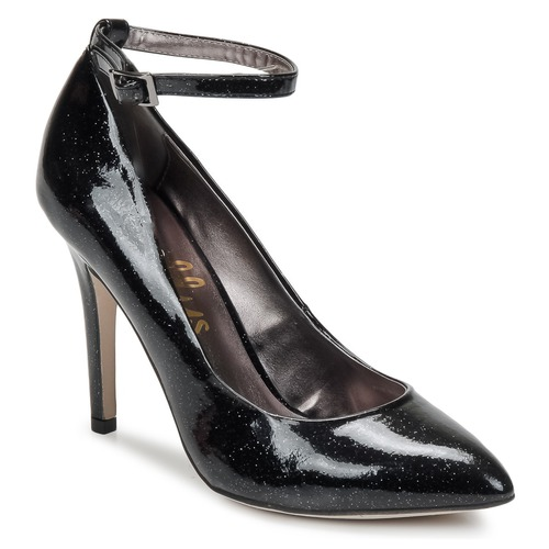 Shellys London STAR Schwarz / Glitterfarbe  Schuhe Pumps Damen 63,99