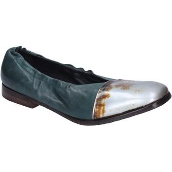 Schuhe Damen Ballerinas Moma BM529 grün