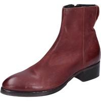 Schuhe Damen Low Boots Moma BM531 burgund