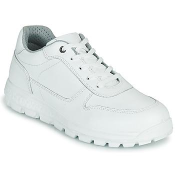 Schuhe Damen Sneaker Low Casual Attitude NABEILLE Weiss