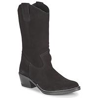 Schuhe Damen Klassische Stiefel Casual Attitude NESCARGO Schwarz