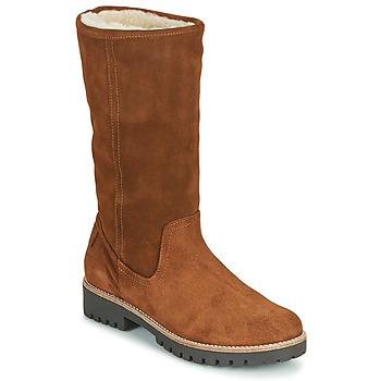 Schuhe Damen Klassische Stiefel Casual Attitude NESCAGO Camel