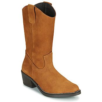 Schuhe Damen Klassische Stiefel Casual Attitude NESCARGO Camel