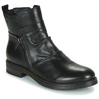 Schuhe Damen Boots Casual Attitude NERMITE Schwarz