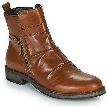 Schuhe Damen Boots Casual Attitude NERMITE Camel