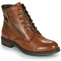 Schuhe Damen Boots Casual Attitude NUNAISE Camel