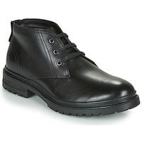 Schuhe Herren Boots Casual Attitude NENDAME Schwarz