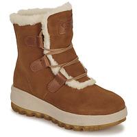 Schuhe Damen Boots Casual Attitude NAREIGNE Camel