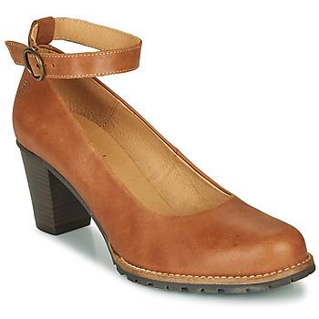 Schuhe Damen Pumps Casual Attitude JALAYELE Camel