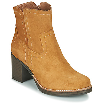 Schuhe Damen Low Boots Casual Attitude NIGALE Camel