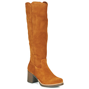 Schuhe Damen Klassische Stiefel Casual Attitude HAPI Camel
