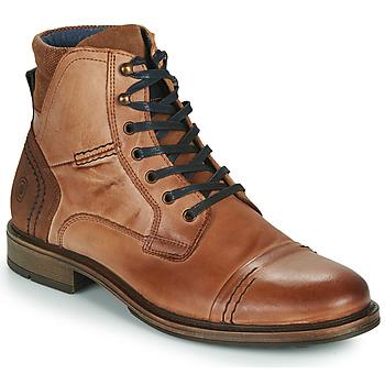 Schuhe Herren Boots Casual Attitude HOKES Braun