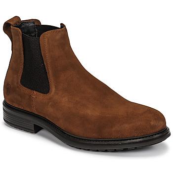 Schuhe Herren Boots Casual Attitude NONILLE Braun