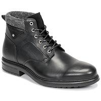 Schuhe Herren Boots Casual Attitude NAPILLON Schwarz