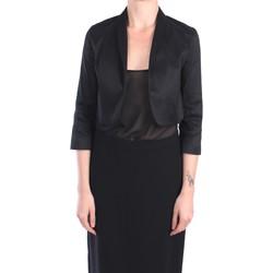 Kleidung Damen Jacken / Blazers Hanita H.J781.2671 Jacke Damen Schwarz Schwarz
