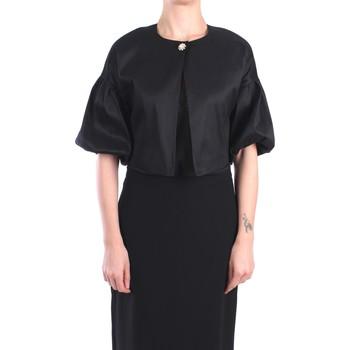 Kleidung Damen Jacken / Blazers Hanita H.J779.2671 Jacke Damen Schwarz Schwarz
