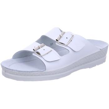 Schuhe Damen Pantoletten / Clogs Rohde Pantoletten Komfort Pantolette bis 30mm Sohlenhöhe 1431 00 weiß