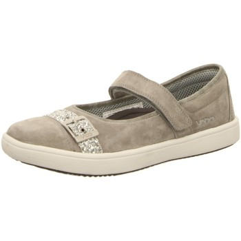Schuhe Damen Slipper Vado Halbschuhe Lina beton 92315-425 grau