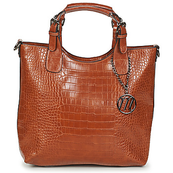 Taschen Damen Handtasche Moony Mood EMIRA CROCO Braun