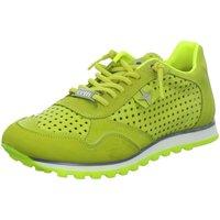 Schuhe Damen Sneaker Low Cetti C848 gelb