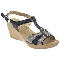 Schuhe Damen Sandalen / Sandaletten Inblu DN 46 sandale Multicolor