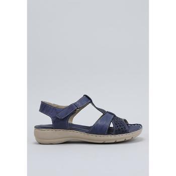 Schuhe Damen Sandalen / Sandaletten Amanda LIRIO Blau