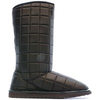 Schuhe Damen Schneestiefel Superga S007A80038 Braun