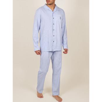 Kleidung Herren Pyjamas/ Nachthemden Admas For Men Innenbekleidung Pyjamahosen Hemdhosen Frische und weiche Blau Marine