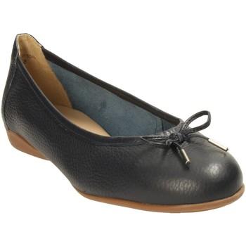 Schuhe Damen Ballerinas Wirth Gambi 6536,81 blau