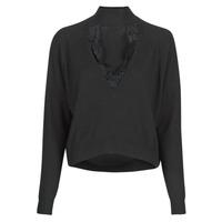 Kleidung Damen Pullover Guess FATIMA TURTLE Schwarz