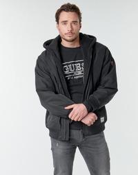 Kleidung Herren Jacken Guess NAUGHTY BOMBER Schwarz