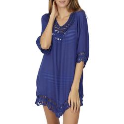 Kleidung Damen Tuniken Admas Strandtunika Ibiza Blau
