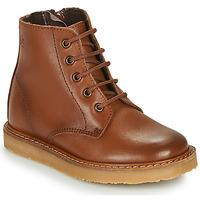 Schuhe Kinder Boots Citrouille et Compagnie HATINE Braun
