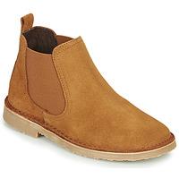 Schuhe Kinder Boots Citrouille et Compagnie HOVETTE Camel