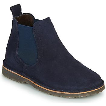 Schuhe Mädchen Boots Citrouille et Compagnie HOVETTE Marine
