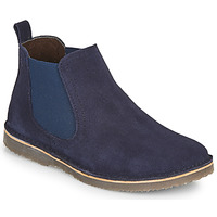 Schuhe Jungen Boots Citrouille et Compagnie HOVETTE Marine