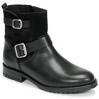 Schuhe Mädchen Boots Citrouille et Compagnie NIVOLE Schwarz