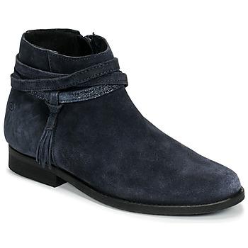 Schuhe Mädchen Boots Citrouille et Compagnie NIVOLET Marine