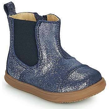 Schuhe Mädchen Boots Citrouille et Compagnie FEPOL Marine