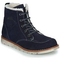 Schuhe Jungen Boots Citrouille et Compagnie LISITON Marine