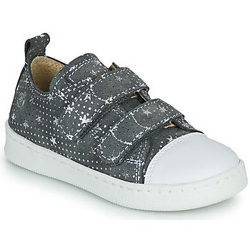 Schuhe Mädchen Sneaker Low Citrouille et Compagnie NADIR Grau / Silbern