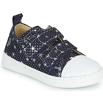 Schuhe Mädchen Sneaker Low Citrouille et Compagnie NADIR Marine / Silbern