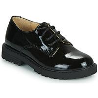 Schuhe Mädchen Derby-Schuhe Citrouille et Compagnie NALIME Schwarz