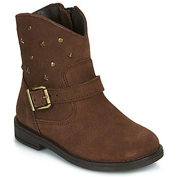 Schuhe Mädchen Boots Citrouille et Compagnie NESTI Braun