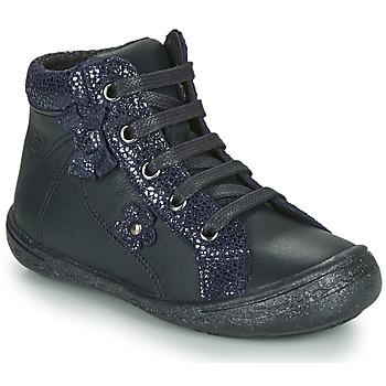 Schuhe Mädchen Sneaker High Citrouille et Compagnie NASTO Marine